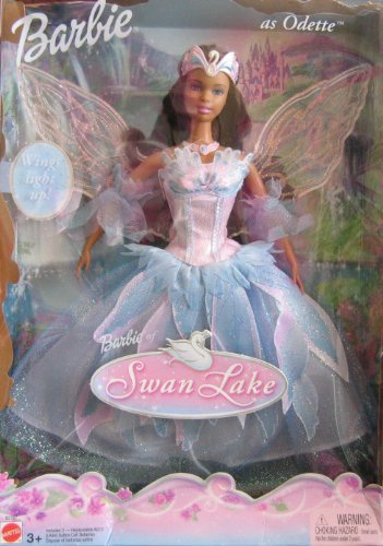 Swan Lake Barbie as Odette Doll AA w Light Up Wings (2003)