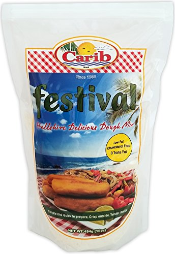Carib Festival Mix Hellshire Delicious Dough 16oz (1)