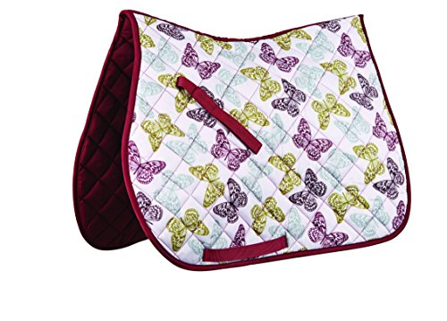 Nylon All Purpose Saddle - Roma Patterned All Purpose Saddle Pad
