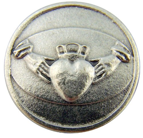 Religious Gifts Irish Gift Claddagh Hands with Heart Love Loyalty Friendship Pocket Token (Claddagh Keepsake)