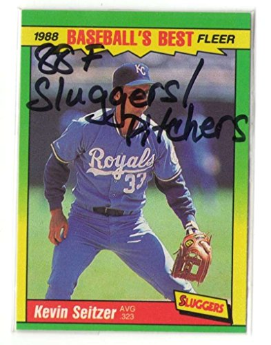 1988 Fleer Sluggers vs Pitchers - KANSAS CITY ROYALS Team Set