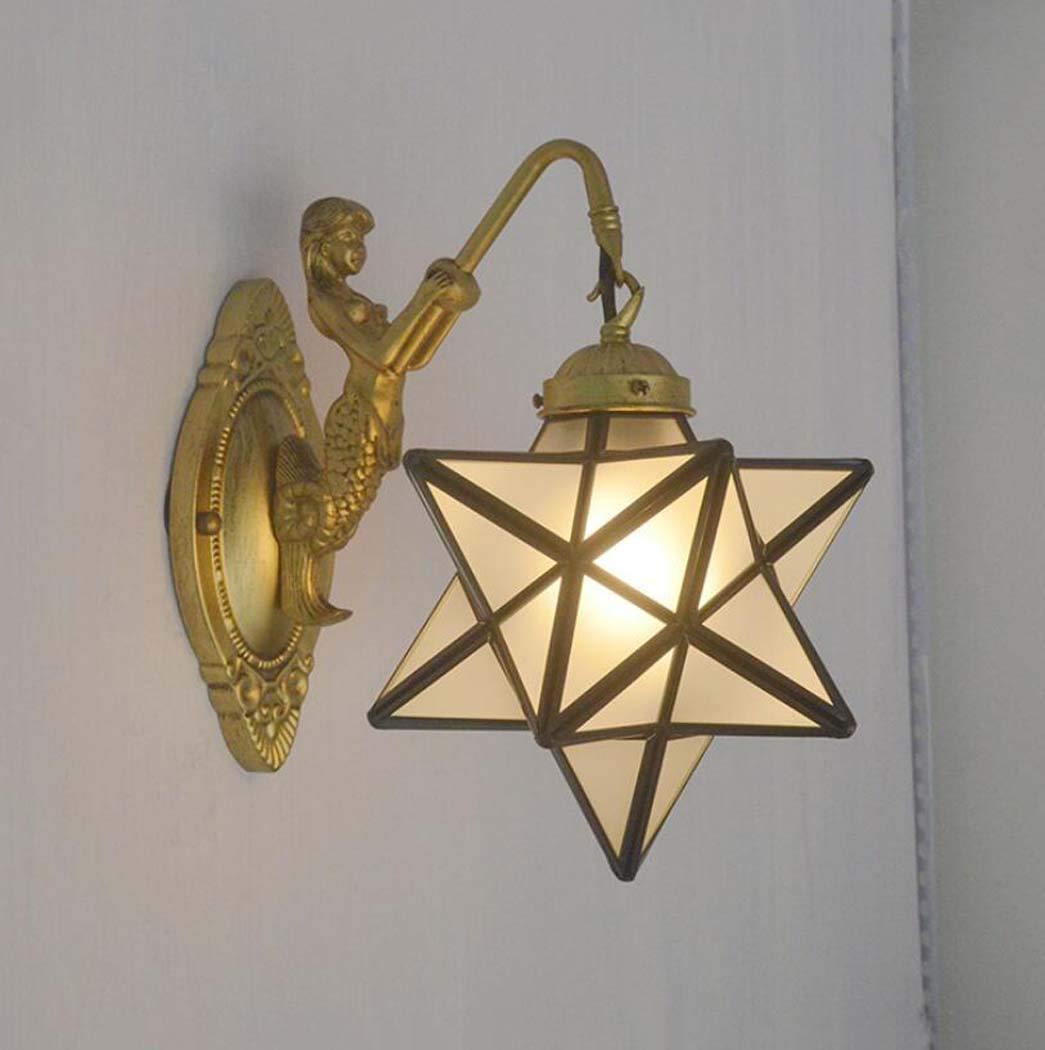 Amazon.com: Lámpara de pared estilo Tiffany de 8.0 in ...