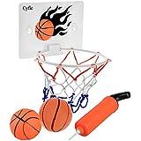 Milkee Mini Panier de Basket pour Adulte Bureau Tableau Jeux de Tir / Enfant Loisir Sport Basketball / Bébé Jouet de Bain