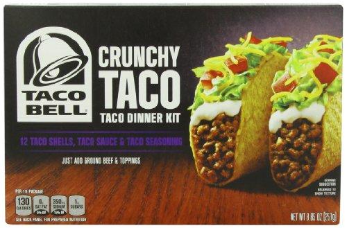 Taco Bell Taco Dinner Kit, Crunchy, 8.85 Ounce