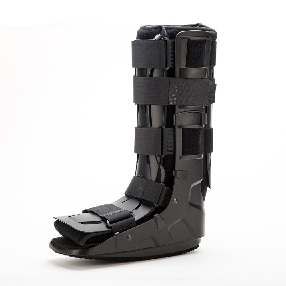 Medibot Pneumatic Walker Brace Walking Boot for Stress Sprain Relief 17 inch Height Large Size