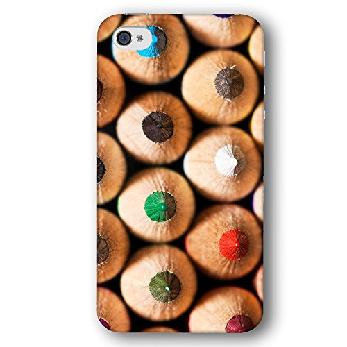 Colored Artists Sharpened Pencils Apple iPhone 4 / 4S Phone Case