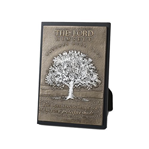 Lighthouse Christian Products Moments of Faith Tree Rectangle Sculpture Plaque, 4 1/2 x 6 1/2 by Lighthouse Christian Products by Lighthouse Christian Products