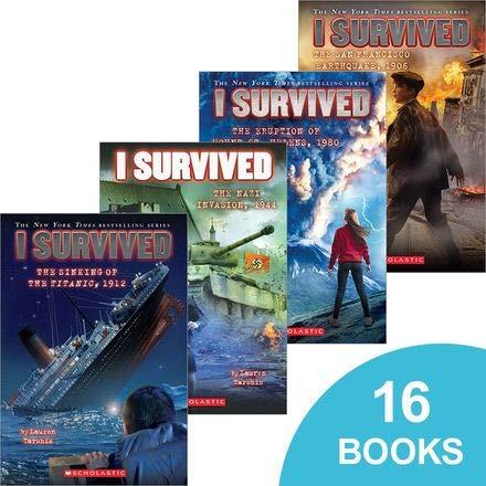 I Survived Disaster Pack - 15 Book Set pdf epub