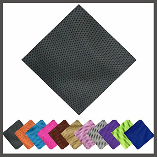 X-Treme (Dark Gray) Microfiber Cooling Towel ( 11 Colors ) 100% Microfiber Sports, Non Slip, Light, Quick-dry, Yoga Cooling Bamboo Towel, Exercise Workout - Running, Pilates ( New Arrival 2017 )