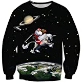 XueXian(TM) Mens Womens Spring Christmas Sweater Snowflake Couple Pullover (China XXL:Bust 41.73'',Graphic 5)