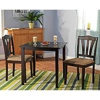 Grantville 3 Piece Dining Set (Espresso)