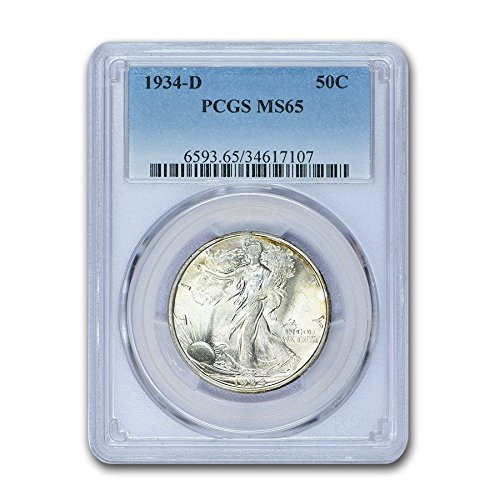 1934 D Walking Liberty Half Dollar MS-65 PCGS Half Dollar MS-65 PCGS