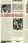Le crime du Palace par Tamagne