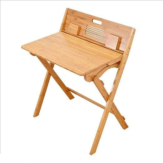 Folding table Nan Escritorio de bambú, Plegable, Mesa de Estudio ...