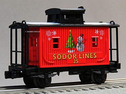 LIONEL Thomas & Friends Christmas SODOR Lines Caboose o - Caboose Sodor Line