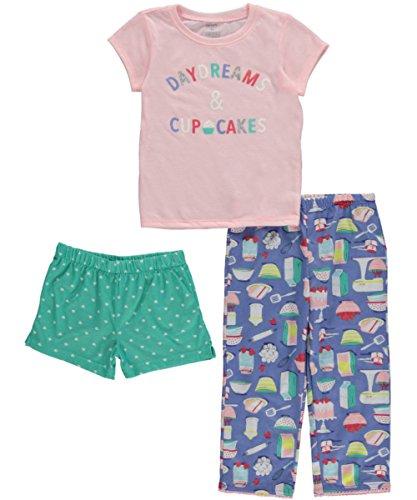Carters Little 3 Piece Daydream Cupcakes