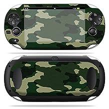 Mightyskins Protective Vinyl Skin Decal Cover for PS Vita PSVITA Playstation Vita Portable wrap sticker skins Green Camo