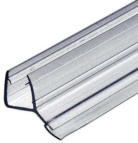 gedotec glastrdichtung lippendichtung glasdichtung fr duschkabinen 135 zum abdichten vom boden duschtr - Dusche Glastur Dichtung