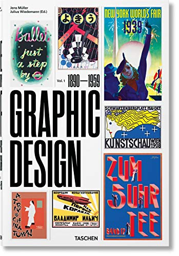 The History of Graphic Design. Vol. 1, 1890-1959 (Multilingual Edition)