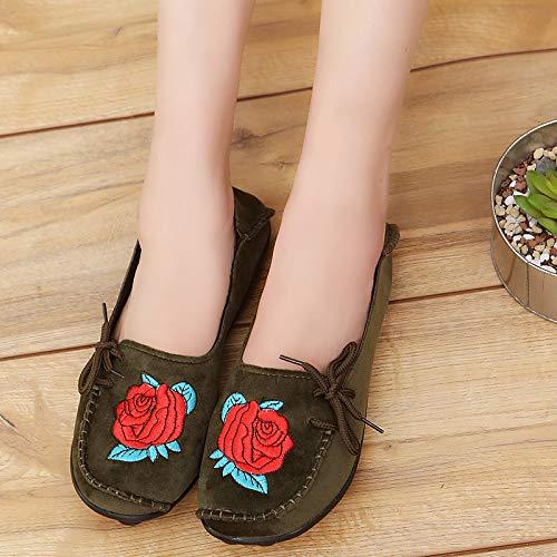 Eu Chaussures couleur Vert Qiusa Gris 39 Taille 1HqI6wq