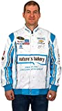 Danica Patrick #10 Nature's Bakery White/Blue Cotton Twill NASCAR Racing Jacket (2X) offers