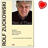 Rolf Zuckowski Best of Piano - Songbook for Piano, Singing, Guitar with Colourful Heart-Shaped Music Clip - Publisher: Hans Sikorski, SIK1379, ISBN: 9783940982438, ISMN: 9790003039206