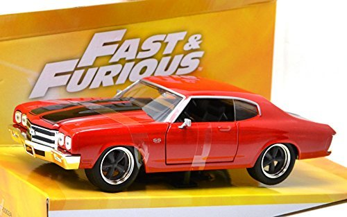 GREENLIGHT 1: 24SCALE FAST & FURIOUS 4 DOM'S 1970