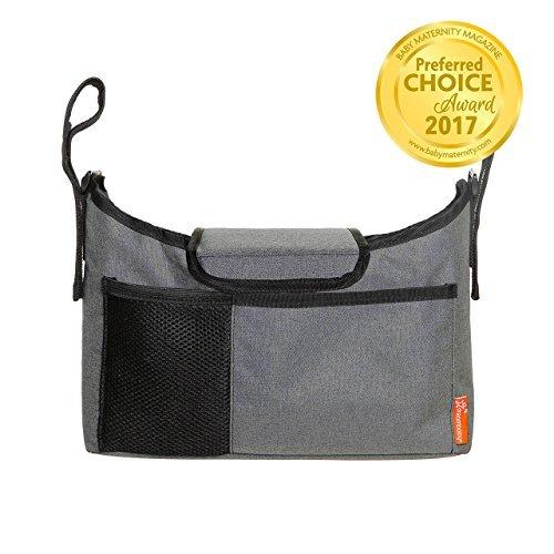 Dreambaby Strollerbuddy On-The-Go Bag (Grey Denim) by Dreambaby