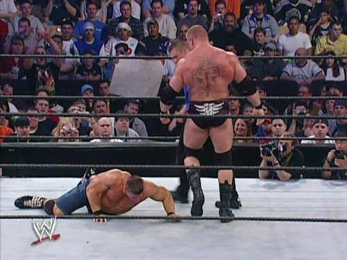 Backlash April 27, 2003 WWE Championship Match Brock Lesnar vs. John Cena