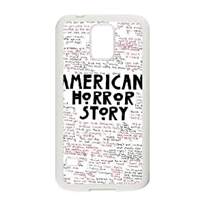 BESTER American Horror Story Personalized Cover Case with Hard Shell Protection for SamSung Galaxy S5 I9600 Case lxa#914147