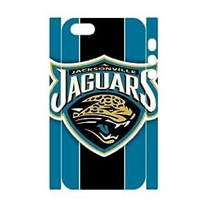 GGMMXO Jacksonville Jaguars Phone 3D Case For iPhone 5,5S [Pattern-2]