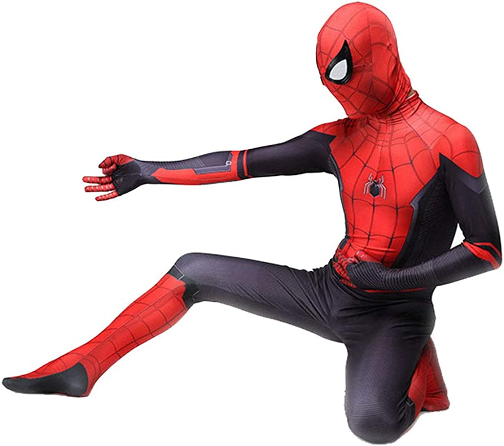 Amazon.com: Da Mai Kids Lycra Superhero Suits Halloween ...