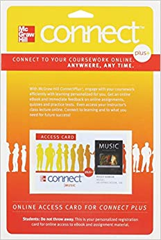 Looseleaf for Music with Connect Access Card