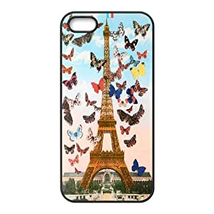 Chaap And High Quality Phone Case For Apple Iphone 5 5S Cases -Eiffel Tower in Paris-LiShuangD Store Case 13