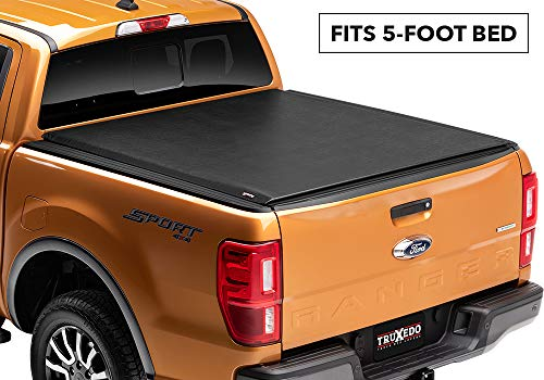 Truxedo 531001 fits 2019 Ford Ranger 5' Lo Pro Soft Roll Up Truck Bed Tonneau Cover