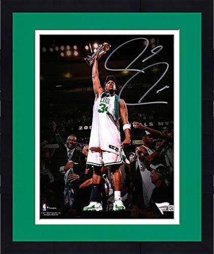 (Framed Paul Pierce Boston Celtics Autographed 8