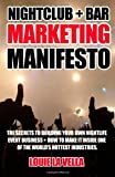 Nightclub and Bar Marketing Manifesto, Louie La Vella, 0988103060