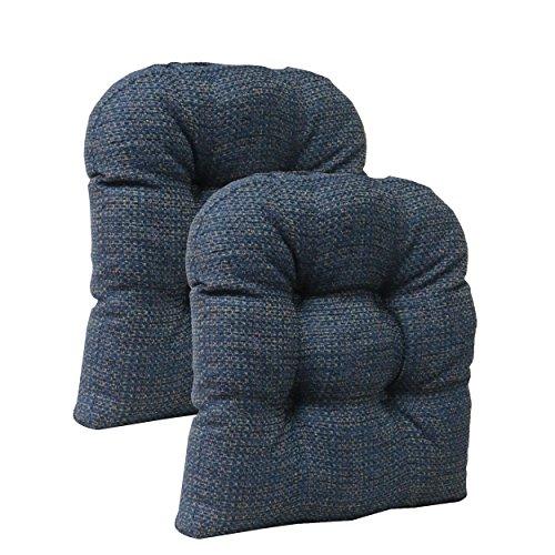 Klear Vu Tyson Non-Slip Universal Chair Pad Cushion Set, 15
