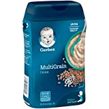 Gerber Baby Cereal Multigrain Baby Cereal, 8 Ounce