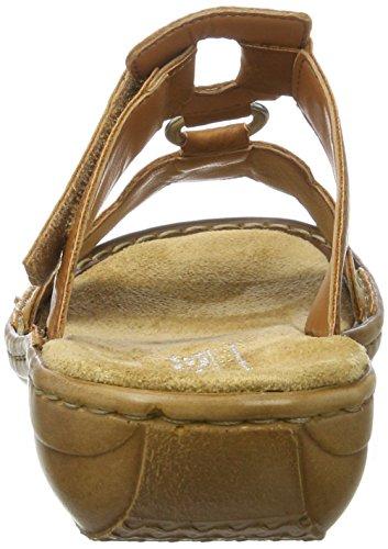 Rieker 608r4, Mules para Mujer Marrón (Cayenne / 24)