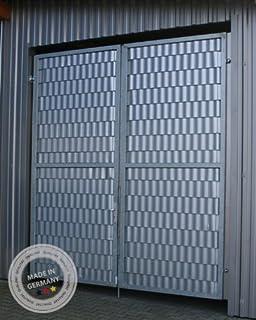 Sistema de protecci/ón para vallas y puertas de metal 26 m ABZ-Zaunsysteme SIGMA color verde