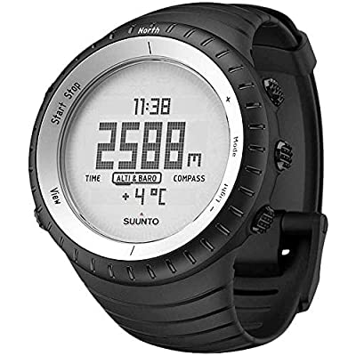 Suunto Core Wrist-Top Computer Watch with Altimeter, Barometer, Compass, and Depth Measurement from Suunto