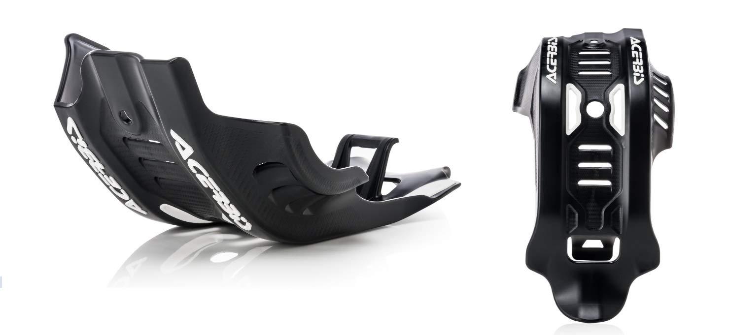 Acerbis Glide Plate 19 KTM 450SXF BLACK//16 ORANGE