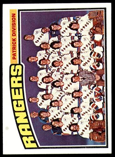 - 1976-77 Topps #143 New York Rangers CL Marked NY Rangers