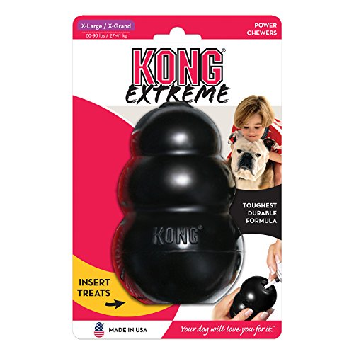 KONG Extreme KONG Dog Toy, X-Large, Black