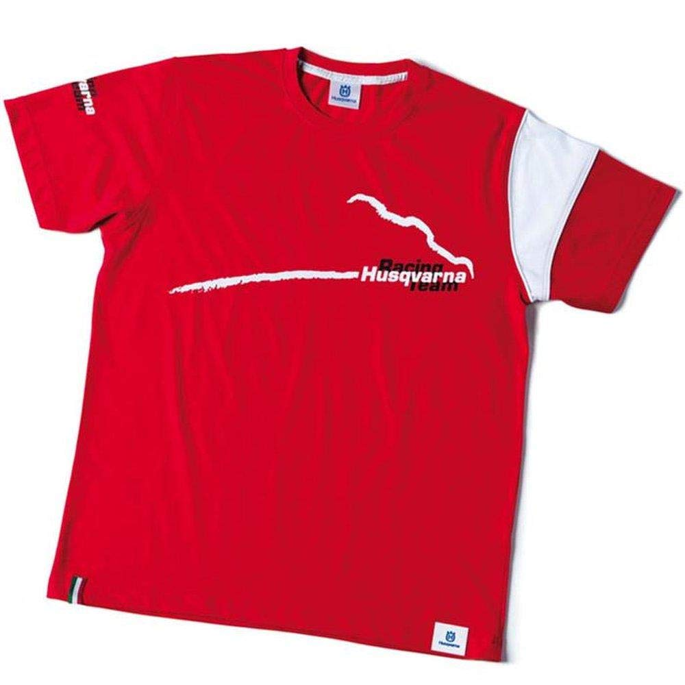 Husqvarna T-Shirt Red Kids Racing Team Age 12-14