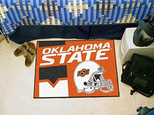 "Starter Mat Oklahoma State University 19""x30"""