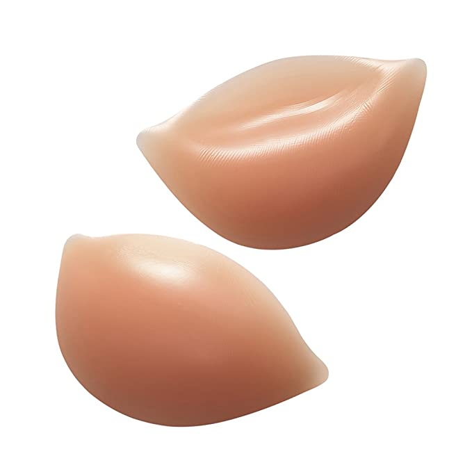 6bd51ec2398b2 Image Unavailable. Image not available for. Color  Strapless Bra Silicone  Inserts Gel Invisible Breast Pads   Breast Push Up ...