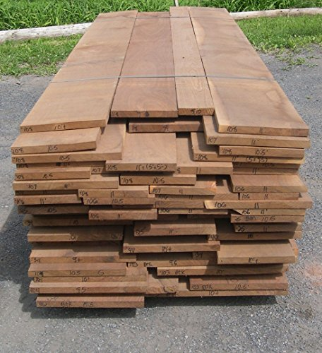 Amish Black Walnut Wood Lumber. 3/4 in. Thick x 48 inces