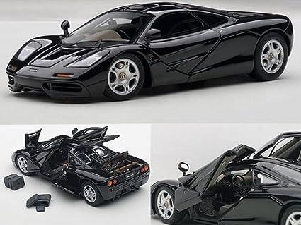 Amazon.com: McLaren F1 Jet Negro Metálico 1/43 con aberturas ...